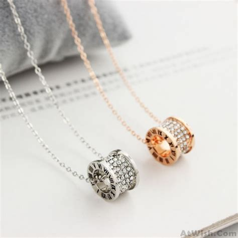 Ring Pendant Chain Necklace gold ring pendant chain necklace