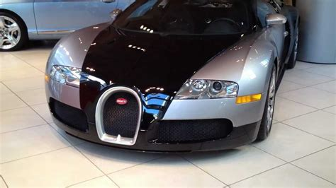 bugatti veyron in chicago dealership