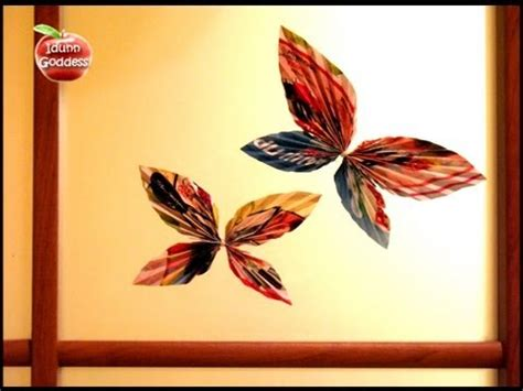 How To Make Paper Decorations For Your Room - diy decor ideas how to make paper butterfly decorate