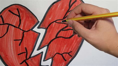 imagenes de amor roto para dibujar corazones rotos para dibujar www pixshark com images