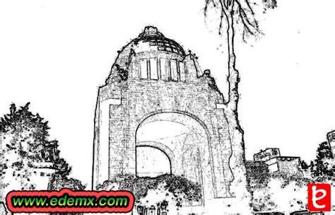 imagenes del monumento ala revolucion mexicana para colorear monumento a la revolucin edemx com
