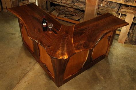 Bar Top Edge by Chronicles Of A Woodworking Apprentice The Zelli Bar Finds It S Way Home