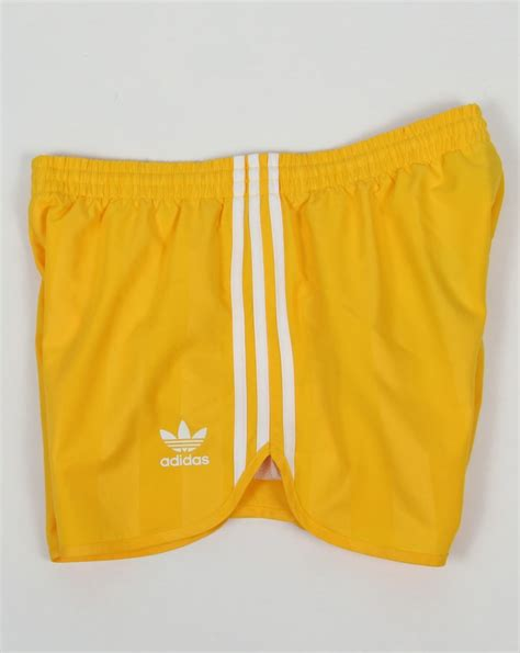 adidas yellow shorts adidas  outlet