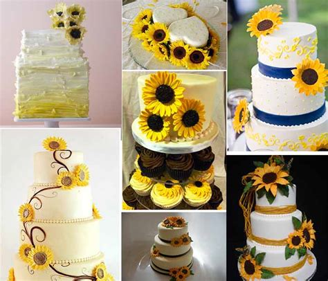 Inspiration of Fall Sunflower Wedding Party