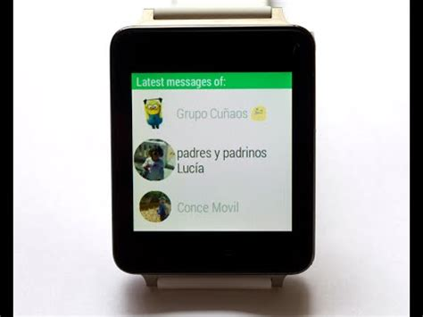 whatsapp on android whatsapp for android wear