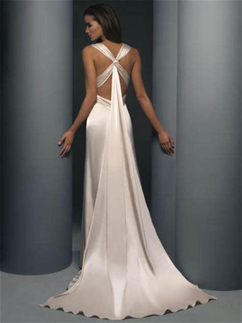 distinct designs informal wedding gowns