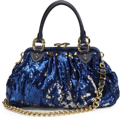 Marc New York Rocker Bag by Marc Sequined New York Rocker Stam Bag In Blue Lyst