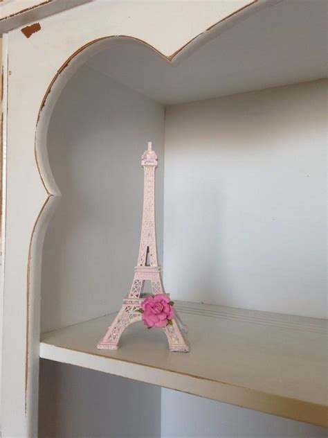 paris home decor accessories pink eiffel tower decorations paris decor shabby chic