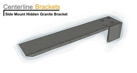 side mounted brackets same day shipping