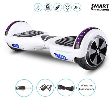 hoverboard with bluetooth and lights 6 5 quot hoverboard with bluetooth speakers bluetooth remote