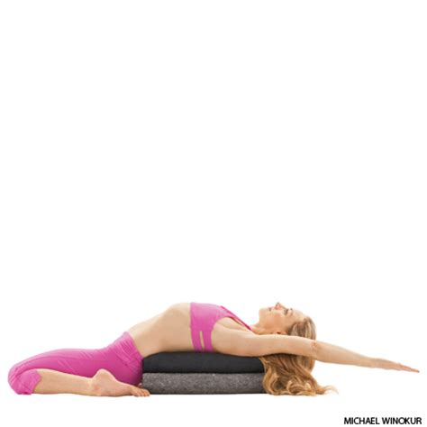 reclined hero pose 25 yoga poses to treat asthma the xerxes