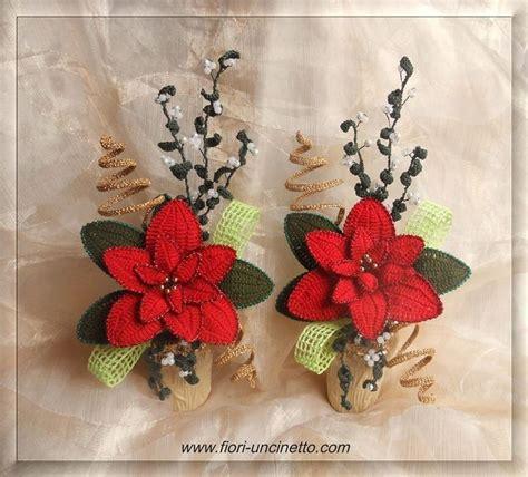 fiori a crochet fiori all uncinetto crochet flowers composizioni