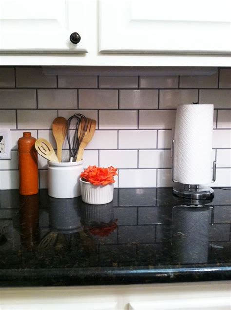 grouting kitchen backsplash i the grout with the white subway tile i also