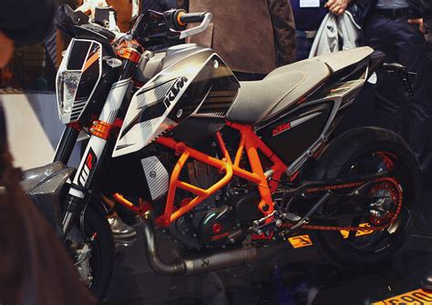 Ktm 690 Duke Powerparts 2012 Ktm 690 Duke Powerparts Edition Eicma Derestricted