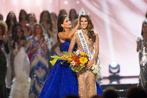 winner of miss universe 2016 miss universe 2016 france s iris mittenaere wins the crown