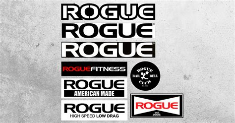 Rogue Fitness Gift Card - rogue fitness stickers logo stickers crossfit rogue fitness