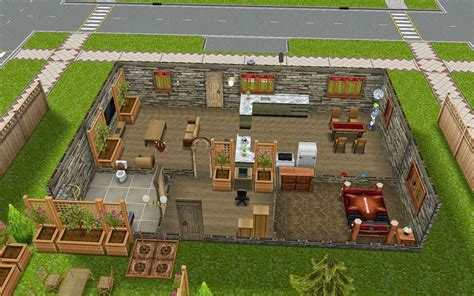 sims freeplay housing minimalist
