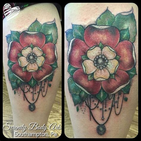 tudor rose tattoo tudor tattoos tudor