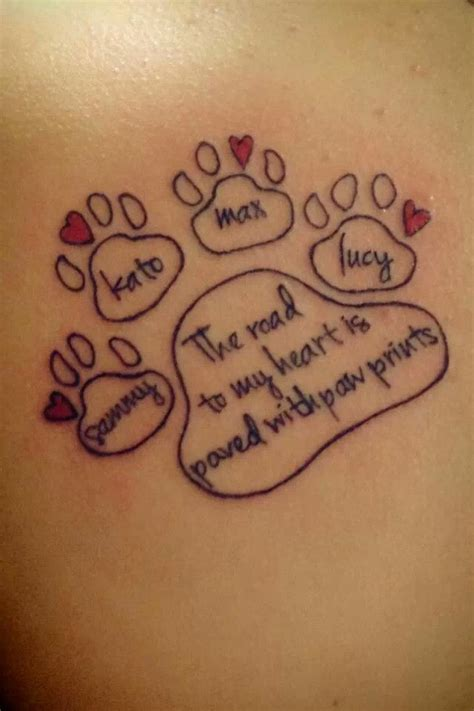 tattoo quotes for pets 1000 ideas about dog memorial tattoos on pinterest