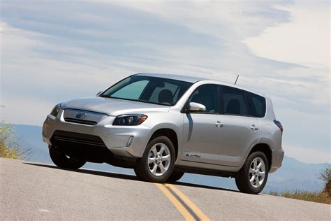 toyota rav4 electric suv presented in los angeles