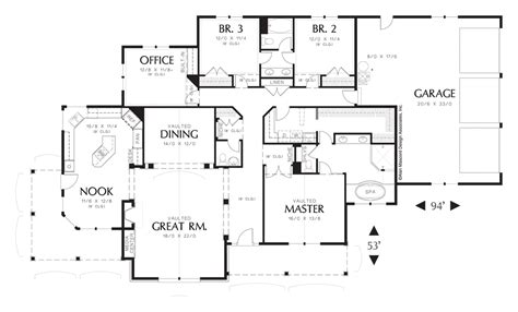 house plan 1232 the garrett