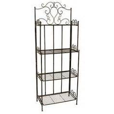 Corner Wrought Iron Bakers Rack 1000 Images About Book Shelf On Pinterest Bakers Rack