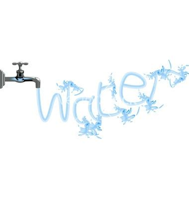 Spell Faucet spelling water from the faucet hug a plumber