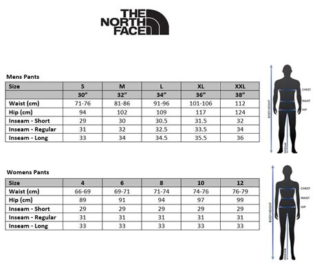 shoe size chart north face north face shoe sizing the north face sale clearance