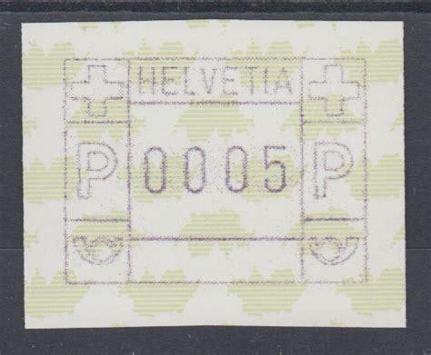 Brief Schweiz Laufzeit schweiz 1997 frama atm landkarte der schweiz gr 252 n druck