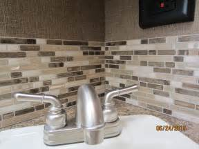 Stick On Kitchen Backsplash Tiles by Inspiration Peel And Stick Smart Tiles On A Budget
