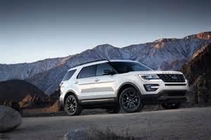 Ford Sport 2017 Ford Explorer Xlt Sport U502 2016 Pr