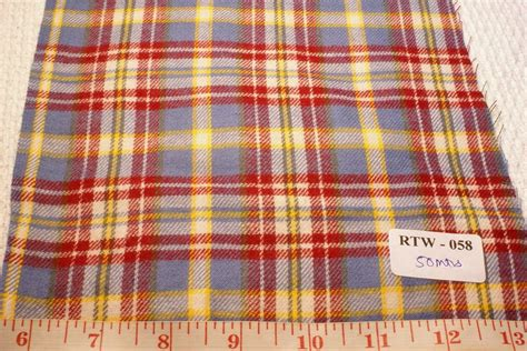 Flannel Patchwork Fabric - madras plaid flannel twill madras fabric patchwork