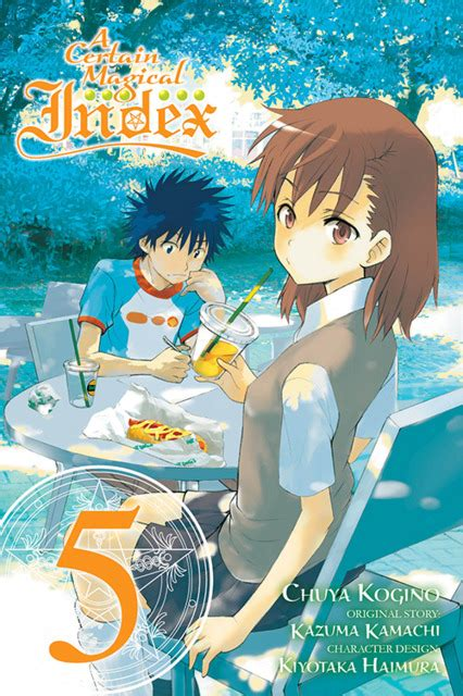A Certain Magical Index Vol 1 Komik a certain magical index 1 vol 1 issue