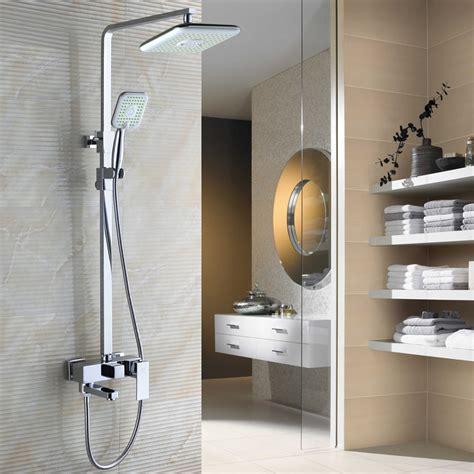 bathroom shower fixture sets bathroom 3 function shower faucet shower set chrome