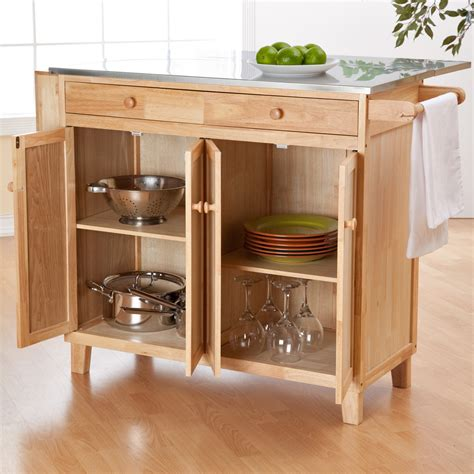 Designs For Kitchen Islands With Rustic Wooden Table With