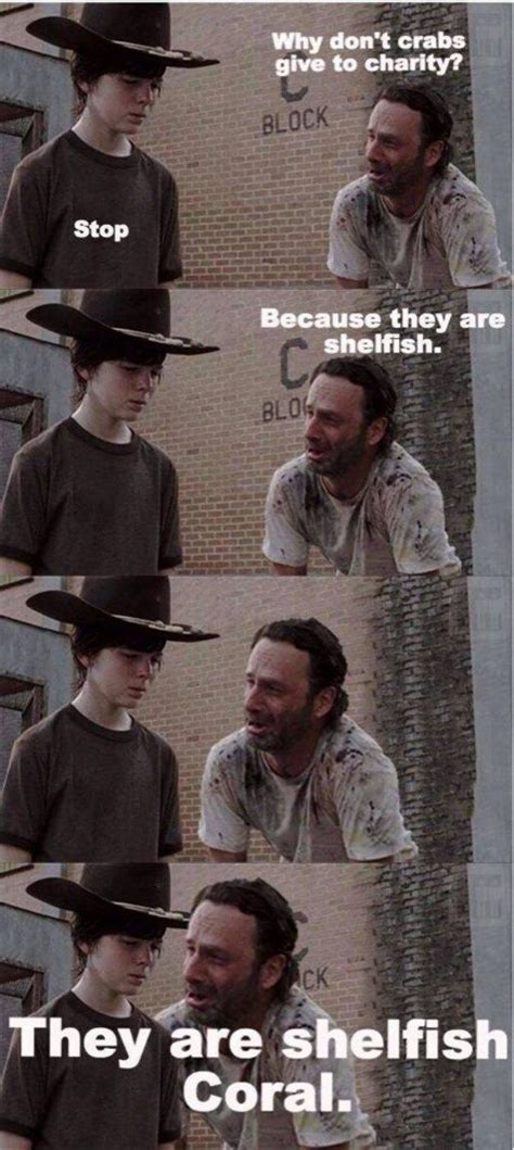 Rick Grimes Meme - 31 of the best dad jokes told by walking dead s rick