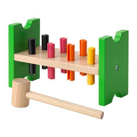 mula mainan anak hammer warna mula pasak dan penukul mainan ikea