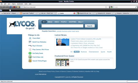 Lycos Search Tugas Kuliah Quot Fasilkom Quot Analisis Macam Macam Search Engine