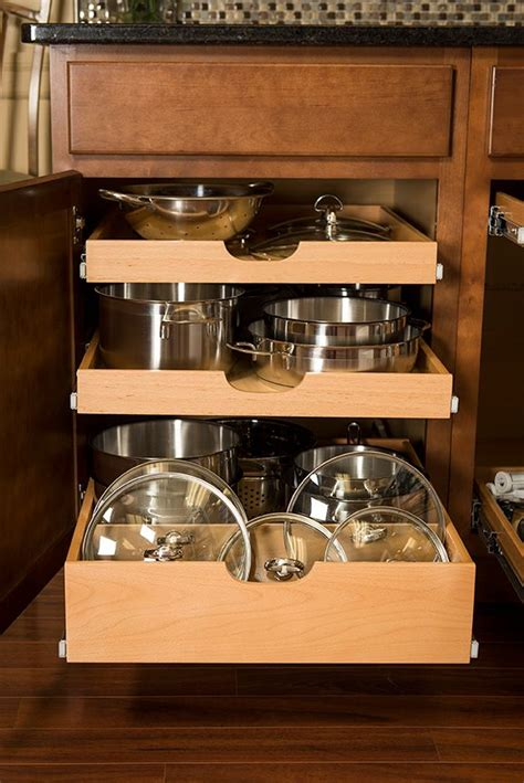 kitchen cabinet slide out shelves best 25 pull out shelves ideas on kitchen