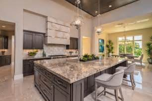 kitchen islands with granite 40 kitchen island designs ideas design trends