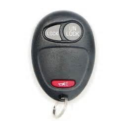 Pontiac Key Fob 2003 Pontiac Montana Remote Keyless Entry W Alarm Key Fob