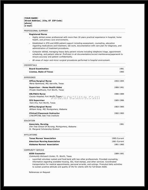 Free Resume Builders by Resume Builders Resume Builder