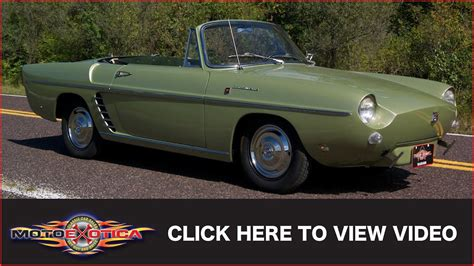 renault caravelle for sale 1960 renault caravelle sold