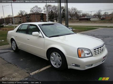 Cadillac Pearl White Paint by 2002 Cadillac Dts In White Pearl Photo No