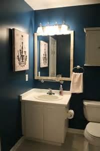 bathroom under stairs on pinterest dark blue bathrooms