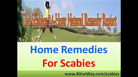 home remedies for scabies how to get rid of scabies