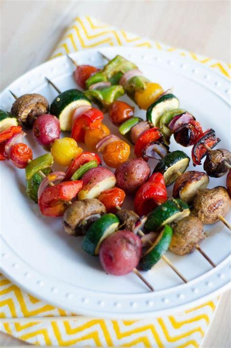 vegetables kabobs grilled veggie kabobs 1 make marinade 2 pour cut