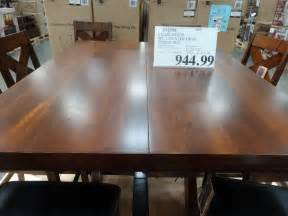 marin country merlot piece dining table