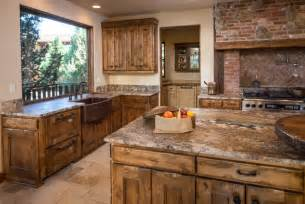 western kitchen ideas water tower inspired home kitchen with butlers pantry