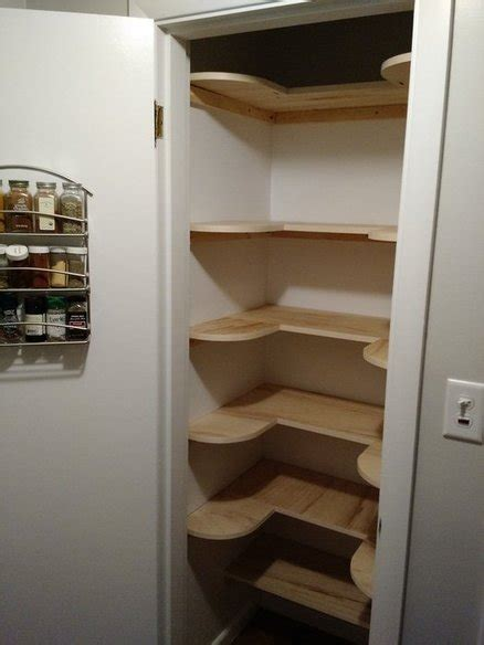 Kitchen Pantry Ideas For Small Spaces pantry shelves by justin lumberjocks com woodworking